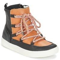 Zapatos Mujer Botas de caña baja André SNOW Camel