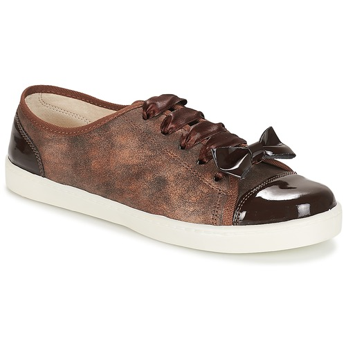 Bajas Zapatillas Zapatos Boutique Marrón André Mujer E2WYeHD9I