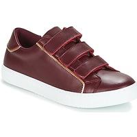 Zapatos Mujer Zapatillas bajas André CRICKET Burdeo