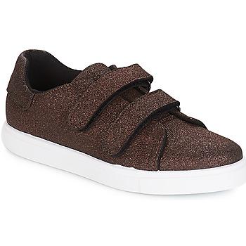 Zapatos Mujer Zapatillas bajas André ECLAT Bronce