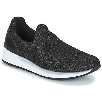 Zapatos Mujer Slip on André RHINESTONE Negro