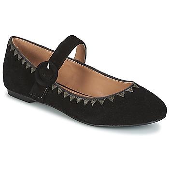 Zapatos Mujer Bailarinas-manoletinas André ALBOROZA Negro