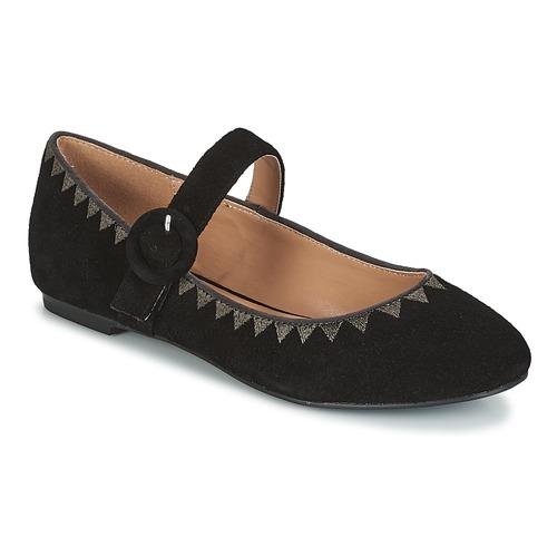 Zapatos manoletinas André Negro Mujer Bailarinas Alboroza srthQdC