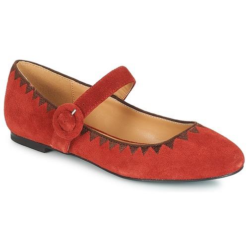 André ALBOROZA Rojo - Envío gratis | ! - Zapatos Bailarinas Mujer
