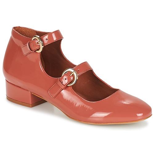 Zapatos Mujer Bailarinas-manoletinas André GABIE Rosa
