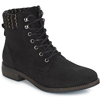 Zapatos Mujer Botas de caña baja André CARMINA Negro