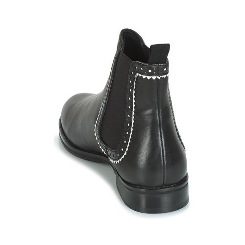 Caña Carlota Zapatos Botas Baja André Negro De Mujer iOXuPkTZ