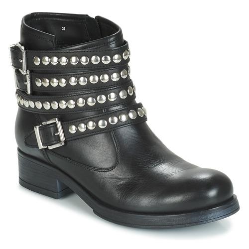 Baja De Mujer André Zapatos Caña Ofelia Negro Botas QrshtCd
