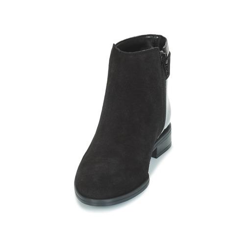 De Mujer Caña André Negro Baja Botas Elfie Zapatos 80OnNwmv