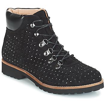 Zapatos Mujer Botas de caña baja André CALCEDOINE Negro
