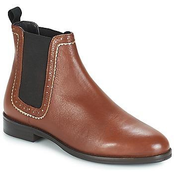 Zapatos Mujer Botas de caña baja André CARLOTA Marrón