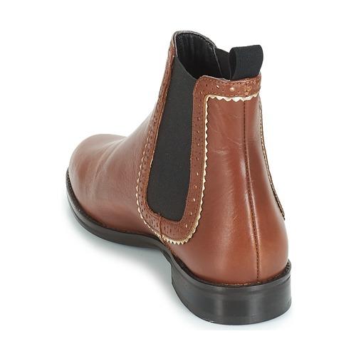 Baja André Mujer Botas Marrón Zapatos De Carlota Caña NnOvwmy08