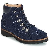 Zapatos Mujer Botas de caña baja André CALCEDOINE Azul