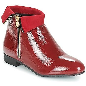 Zapatos Mujer Botas de caña baja André PIMENTO Rojo