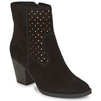 Zapatos Mujer Botines André DELIA Negro