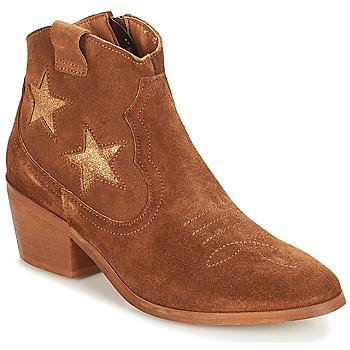 Zapatos Mujer Botas de caña baja André CELESTE Camel