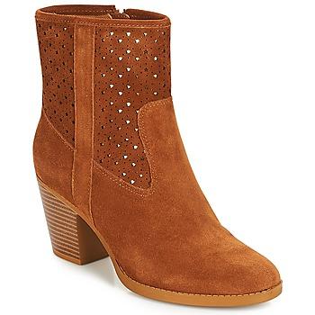 Zapatos Mujer Botines André DELIA Camel