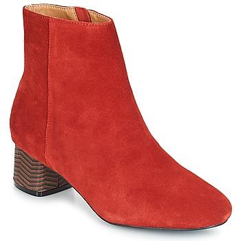 Zapatos Mujer Botines André EUFORIA Rojo