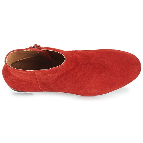 Mujer Rojo André Botines Euforia Zapatos DE2WIYH9