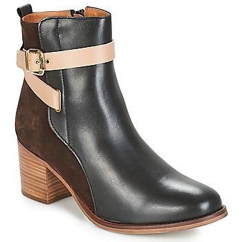 Zapatos Mujer Botines André NATANAEL Negro