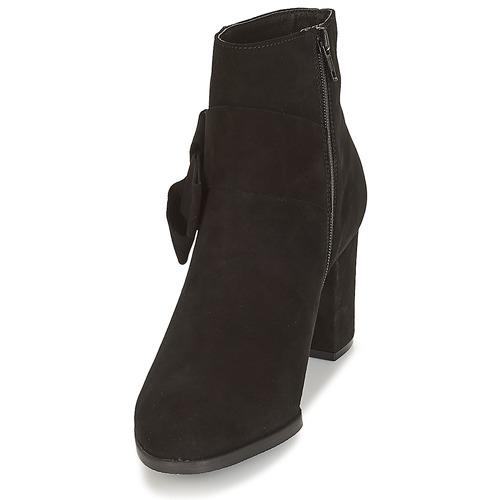Botines Negro Mujer Zapatos Leonor André 4jRqc5AL3
