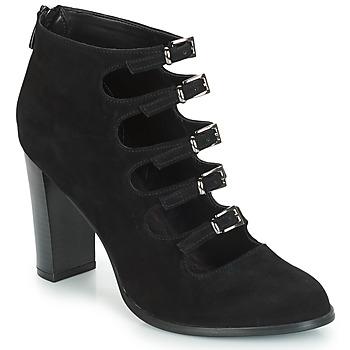 Zapatos Mujer Botas de caña baja André GAYA Negro