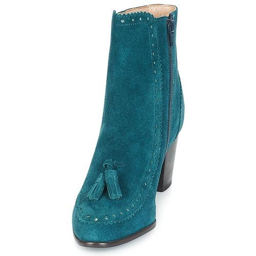 Zapatos André Doriane Azul Botines Mujer yf76IgmYbv