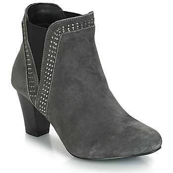 Zapatos Mujer Botines André BRITANIE Gris