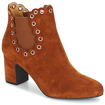 Zapatos Mujer Botines André ALESSIA Camel
