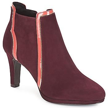 Zapatos Mujer Botines André ERIKA Burdeo