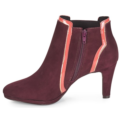 Erika Mujer Botines Zapatos André Burdeo nwO0Pk8