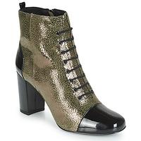 Zapatos Mujer Botines André CONGA Kaki