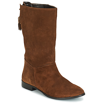 Zapatos Mujer Botas urbanas André LOULOUTE Camel