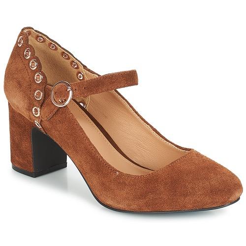 André ALDA Camel - Envío gratis | ! - Zapatos Zapatos de tacón Mujer