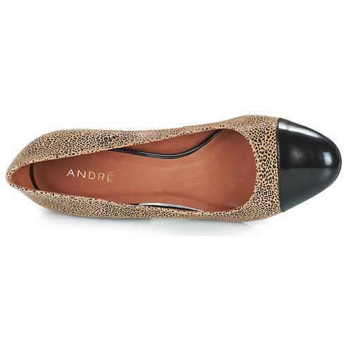 Fauve Tacón André Zapatos Mujer De Beige thQrsdC