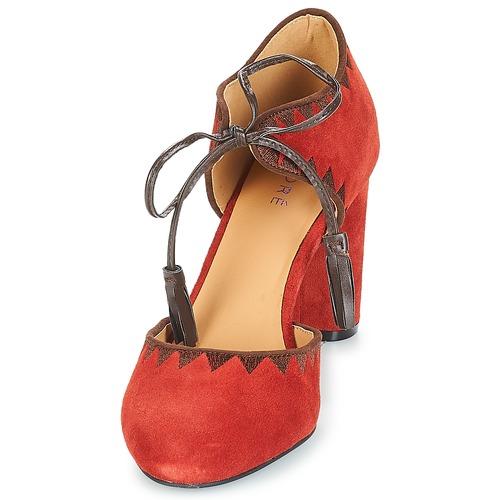 Tacón Allegra Mujer Rojo De Zapatos André eBdCxo
