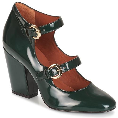 André ANTONELLA Verde - Envío gratis | ! - Zapatos Zapatos de tacón Mujer