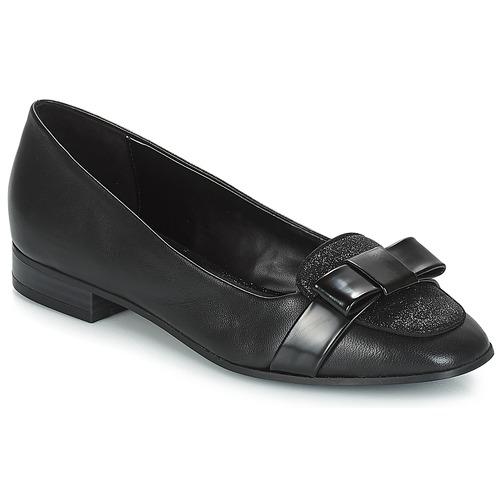 Annalisa André Negro Mocasín Zapatos Mujer kZiOuPX