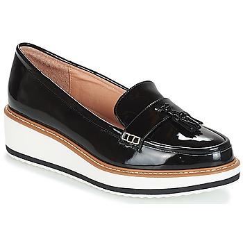 Zapatos Mujer Mocasín André AUSTIN Negro