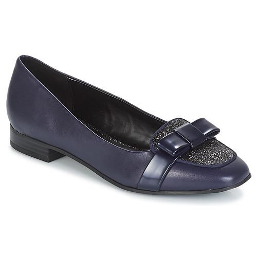 André ANNALISA Azul - Envío gratis | ! - Zapatos Mocasín Mujer