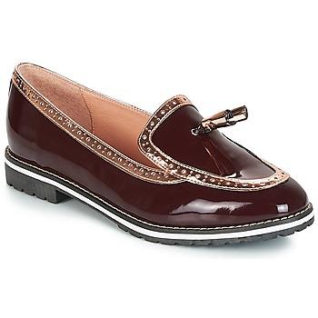 Zapatos Mujer Mocasín André DEBBY Burdeo