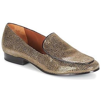 Zapatos Mujer Mocasín André BOLINIA Oro