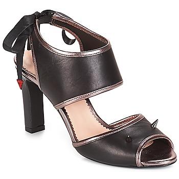 Zapatos Mujer Sandalias André NEVERLAND Negro