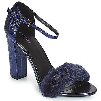 Zapatos Mujer Sandalias André WANDA Marino