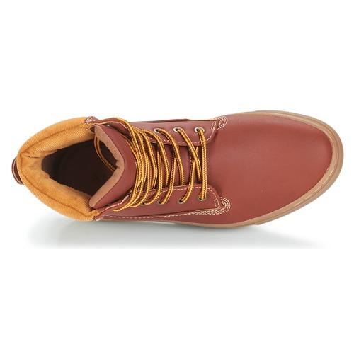 Zapatos De Hussard André Baja Botas Mujer Marrón Caña 0OvN8mnw
