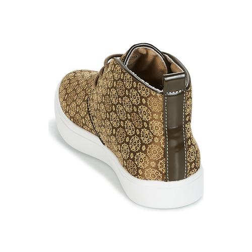 André Zapatillas Altas Empereur Mujer Zapatos Kaki fb6g7y