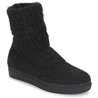 Zapatos Mujer Botas de caña baja André CROCUS Negro