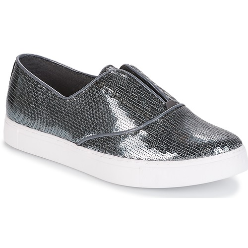 Zapatos Mujer Slip On Plateado Cosmique André UzpSqVM