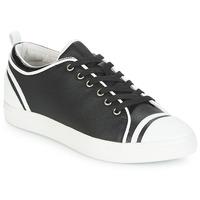 Zapatos Mujer Zapatillas bajas André LEANE Negro / Blanco
