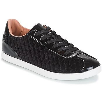 Zapatos Mujer Zapatillas bajas André VELVET Negro